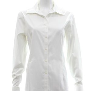 BROOKS BROTHERS WHITE BUTTON DOWN SHIRT SIZE 16